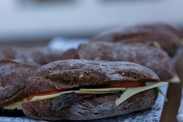 Broodjes lunch zakelijke fotografie